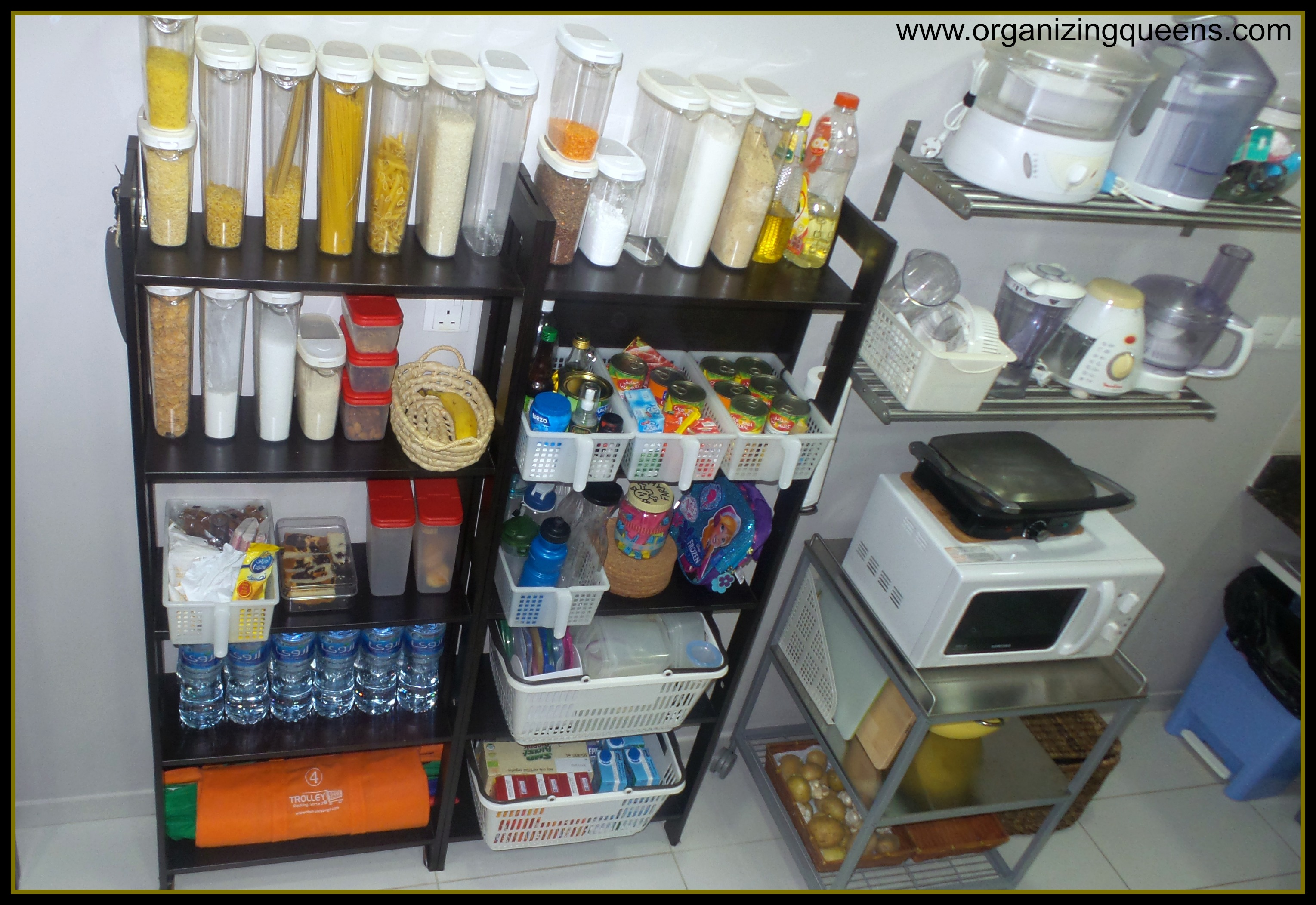 Surviving Small Kitchens No Pantry No Problem Theorganizingqueens