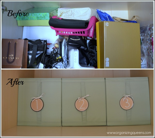 before x after